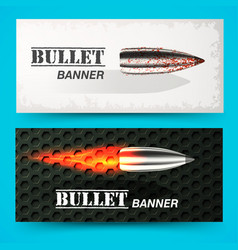 Bullet background concept vector