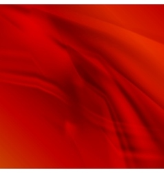 Abstract smooth lines red background vector