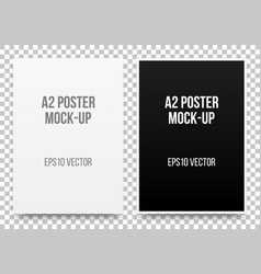 A2 posters mock-up vector