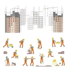 For construction site vector