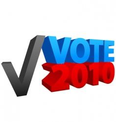 USA election 2010 vector image vector image