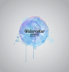 watercolor background vector image