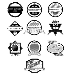 Badges set vector