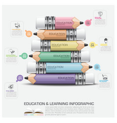 Education and learning infographic subject of vector