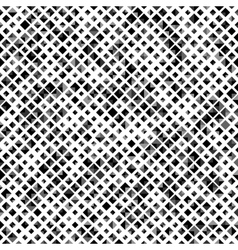Black color seamless pattern with rhombuses vector image