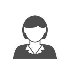 Businesswoman avatar icon vector image vector image