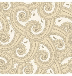 eastern style paisley vector image