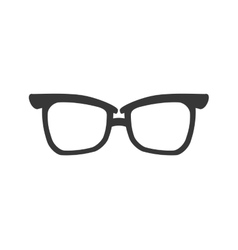 Glasses traditional fashion icon graphic vector
