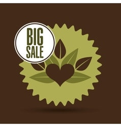 big sale food healthy vector image