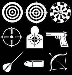 Shooting devices vector