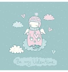 Sweet Fairy Card vector image