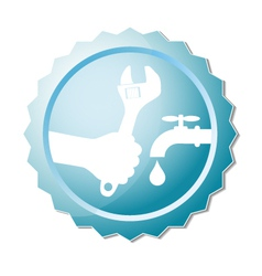 Repair plumbing design vector