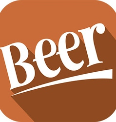 Beer banner vector