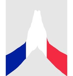 French pray vector