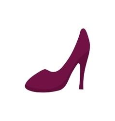 Heel woman fashion vector
