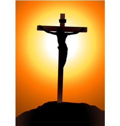 Salvation Of Jesus Christ vector image