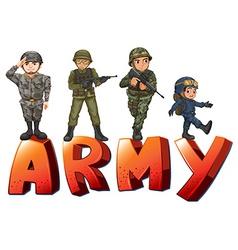 Army vector