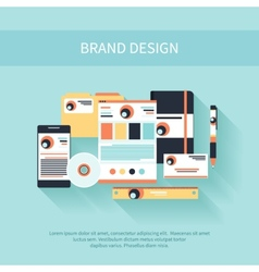 Brand Design vector image vector image