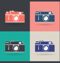 creative design object icon set vector image vector image
