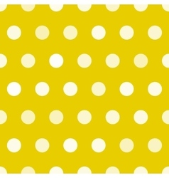 Dotted texture gold and white circles vector