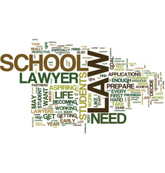 Law school know how text background word cloud vector