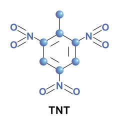 Trinitrotoluene is a chemical compound vector