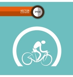 Bicycle icon design vector