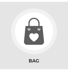 Bag store single icon vector