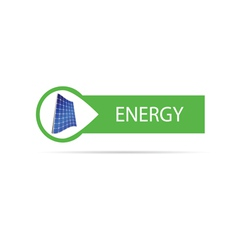 energy icon color vector image