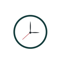 clock watch time icon vector image vector image