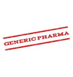Generic pharma watermark stamp vector