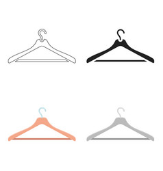 Hanger icon of for web and vector