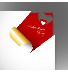 teared paper vector image vector image