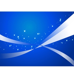 Abstract blue backgroung vector