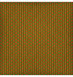 Needlework Background Red Green Pattern EPS 10 vector image vector image
