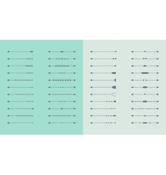 Set of arrows for web design vector