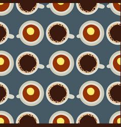 tea coffee cup hot healthy vector image