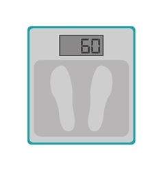 Weighing scales icon vector
