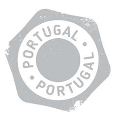 Portugal stamp rubber grunge vector