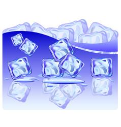 ice vector image