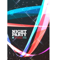 Night party vector