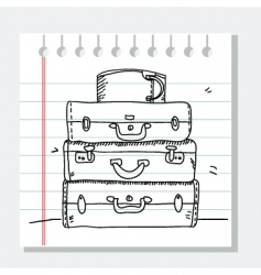 Travel sketch vector