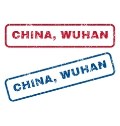 China wuhan rubber stamps vector