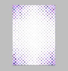 Color square pattern brochure background template vector