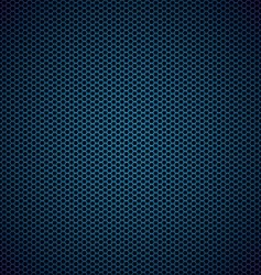 hexagon metal background vector image