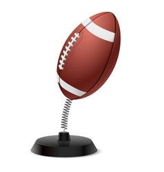 American football souvenir vector