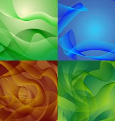 backgrounds vector image vector image