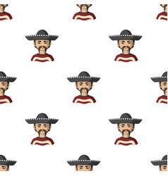 Mexicanhuman race single icon in cartoon style vector