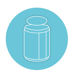 Mason jar with ingredient kitchen vector