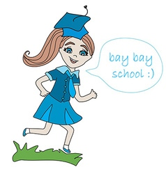 Bay bay school vector